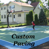 Custom Paving Options